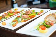 De filet van de kip met groenten Royalty-vrije Stock Foto's