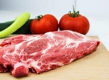 De filet van de varkensvleeshals Royalty-vrije Stock Afbeelding