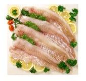 De filet van koolvissen stock foto