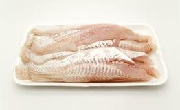 De filet van stokvissen Stock Foto's