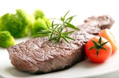 De filetlapje vlees van het rundvlees stock afbeeldingen