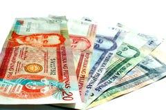 De Filippijnse Rekeningen van de Peso royalty-vrije stock fotografie