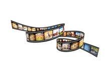 De film van Afrika Royalty-vrije Stock Afbeeldingen