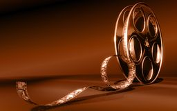 De film van de bioskoop Royalty-vrije Stock Foto