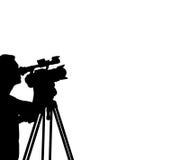 De Film van de cameraman stock illustratie