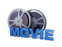 De film van de filmstrook Royalty-vrije Stock Foto's