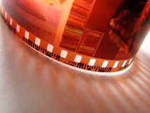 De film van de foto Stock Foto