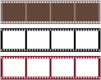 De film van de strook stock afbeelding