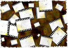 De film van Grunge stock afbeelding