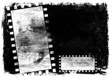 De filmachtergrond van Grunge Royalty-vrije Stock Afbeeldingen