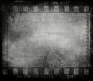 De filmachtergrond van Grunge stock foto