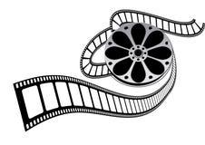 De filmbroodje van de film royalty-vrije illustratie