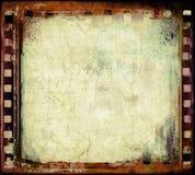 De filmframe van Grunge Stock Afbeeldingen