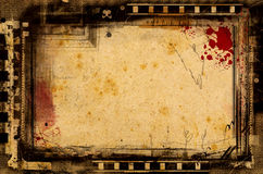 De filmframe van Grunge Royalty-vrije Stock Foto