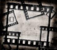 De filmframes van Grunge Royalty-vrije Stock Afbeelding