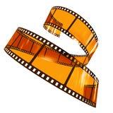 De filmstrip van Curvy stock foto
