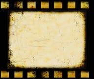 De filmstrip van Grunge Stock Afbeelding