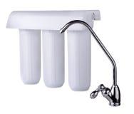 De filter van het water Stock Foto's