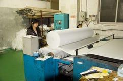 De filterfabriek van de lucht in China Royalty-vrije Stock Afbeeldingen