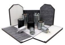 De filters van de auto Royalty-vrije Stock Fotografie