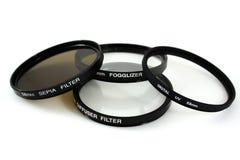 De Filters van de camera Stock Afbeelding