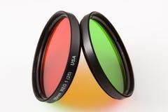 De Filters van de kleur Stock Afbeeldingen