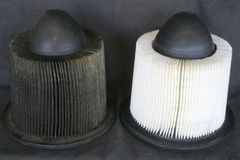 De filters van de lucht Royalty-vrije Stock Foto's