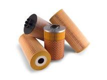 De filters van de olie Stock Foto's