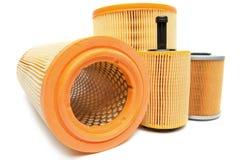 De filters van de olie Stock Foto