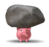Financiële Druk Royalty-vrije Stock Afbeelding