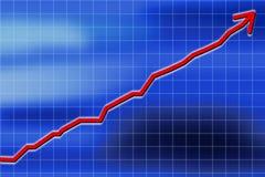De financiële groei Stock Illustratie