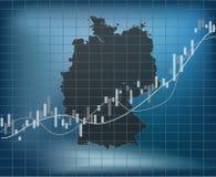 De Financiën en de Economie van Duitsland royalty-vrije illustratie