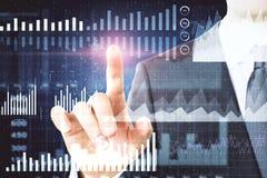De financiën en investeren concept royalty-vrije stock afbeeldingen