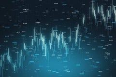De financiën en investeren forex achtergrond stock fotografie
