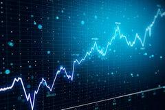 De financiën en investeren forex achtergrond stock afbeeldingen