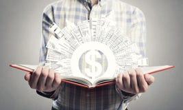 De financiën van de mensenstudie Royalty-vrije Stock Afbeelding