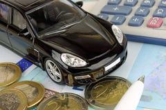 De Financiën van de motor Stock Foto's