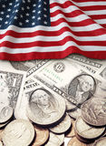 De financiën van de V.S. Stock Afbeeldingen