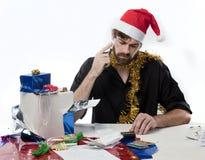 De Financiën van Kerstmis Stock Foto's