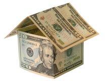 De Financiering van de Bouw van het huis royalty-vrije stock afbeeldingen