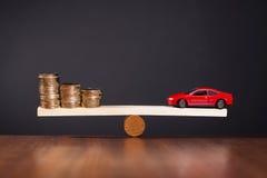 De financiering van een Auto royalty-vrije stock foto