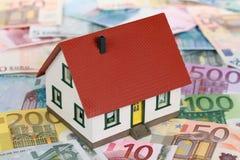 De financiering van het huis stock fotografie