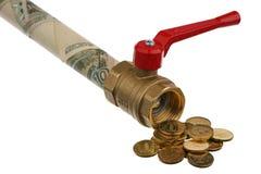 De financiering wordt tegengehouden Stock Foto's