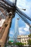 De Financiële Toren van Bitexco, Ho-Chi-Minh-Stad. Stock Afbeeldingen