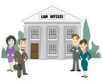 De Firma van de wet Stock Afbeelding