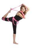 De fitness en de sport van de vrouw Stock Foto