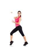 De fitness van de sport vrouw Royalty-vrije Stock Foto's
