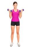 De fitness van de sport vrouw Stock Afbeelding