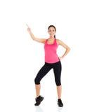 De fitness van de sport vrouw Royalty-vrije Stock Foto