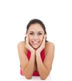 De fitness van de sport vrouw Royalty-vrije Stock Afbeeldingen
